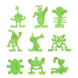 BMC Classic Sci-Fi Alien Jungle - 26pc Plastic Figure & Accessory Playset