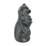 Black Cat Money Bank 17 inch Plastic Blow-Mold Decoration - Classic Retro Design