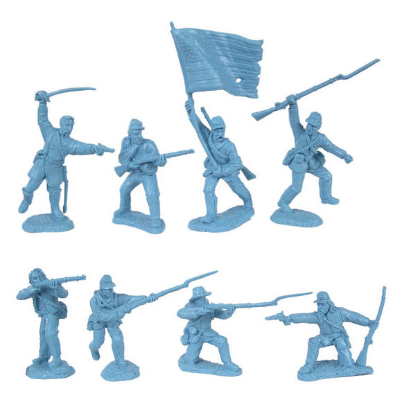 Civil War Charging Infantry 1863 Union Soldiers by TSSD
