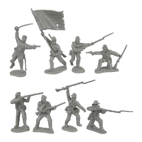 Civil War Charging Infantry 1863 Soldiers by TSSD