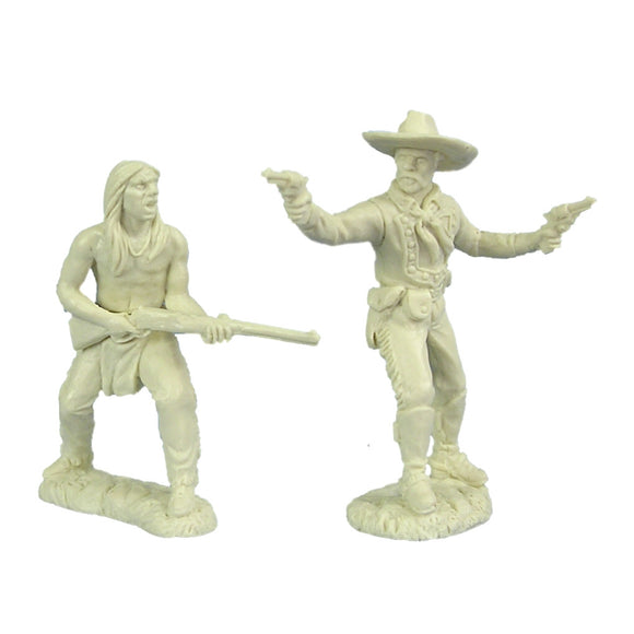 Crazy Horse and General Custer Figures by TSSD
