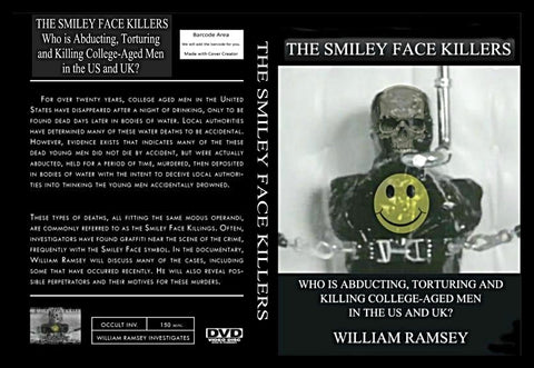 THE SMILEY FACE KILLERS DVD