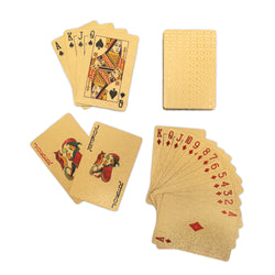 24K Gold Foil Luxury Playing Cards Deck