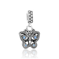 Butterfly Pendant Charm - CHARMANIC