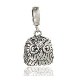 CHARMANIC Charms & beads Cute Owl Charm