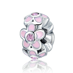 Daisy Flowers Charm Stopper Spacer - CHARMANIC