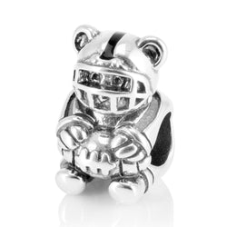 Teddy Bear Charm Bead - CHARMANIC