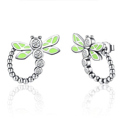 CHARMANIC earrings Dragonfly Stud Earrings