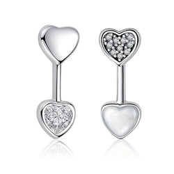 Hearts Of Love Stud Earrings - CHARMANIC