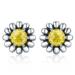 CHARMANIC earrings Summer Daisy Stud Earrings