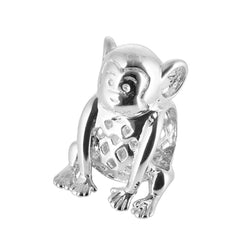 Charmanic ltd. Charms & Beads Silver Monkey Charm