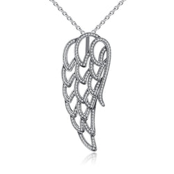 Angel Wing Pendant Necklace - CHARMANIC