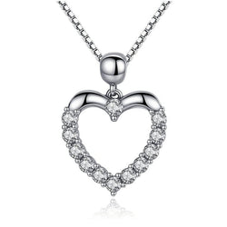 Open Heart Love Pendant - CHARMANIC