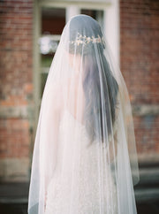 ABIGAIL | Wedding Veil with Blusher | Noon on the Moon