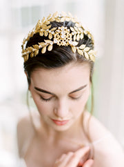 ALEXANDRIA | Gold Wedding Crown | Noon on the Moon