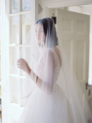 AMELIE | Bridal Veil with Blusher | Noon on the Moon