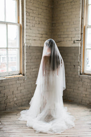 ANGELIQUE | French Silk Drop Veil