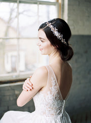 AVA | Opal Bridal Headpiece | Noon on the Moon