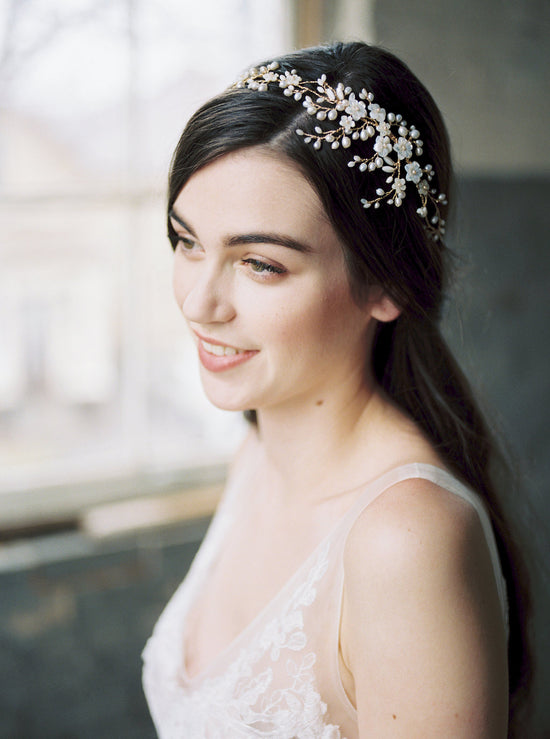 AYAME | Floral Wedding Headpiece