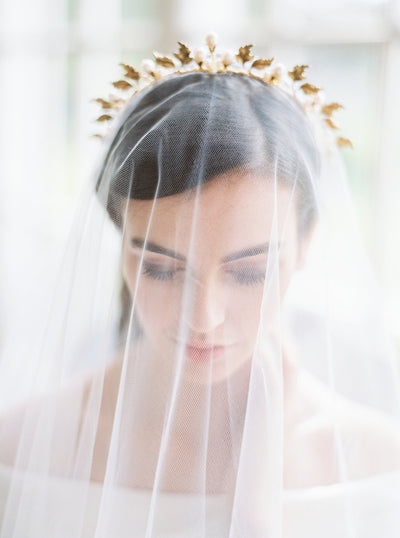 CELESTE | Gold Bridal Crown | Noon on the Moon