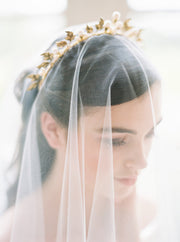 CELESTE | Gold Bridal Crown - Noon on the Moon