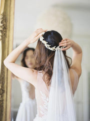 COLETTE | Floral Wedding Crown - Noon on the Moon