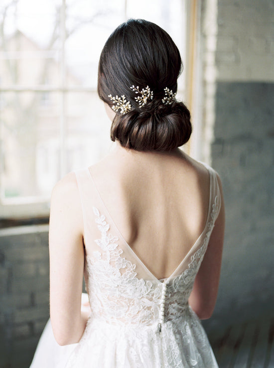 ELYSE | Bridal Hair Pins