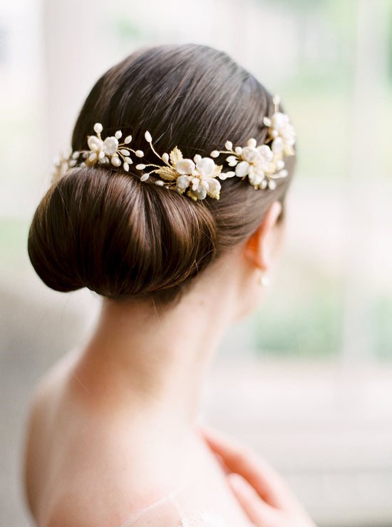 EMI | Pearl Bridal Hair Pins | Noon on the Moon
