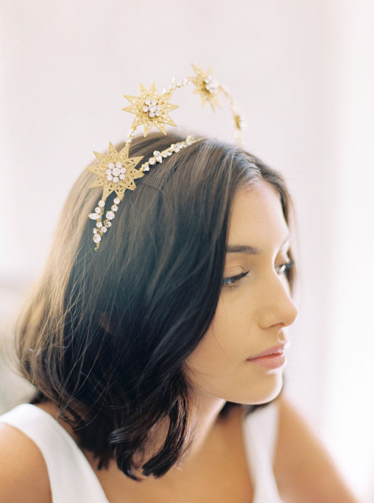ETOILE | Star Wedding Crown | Noon on the Moon