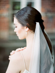 EVELYN | Draped Wedding Veil