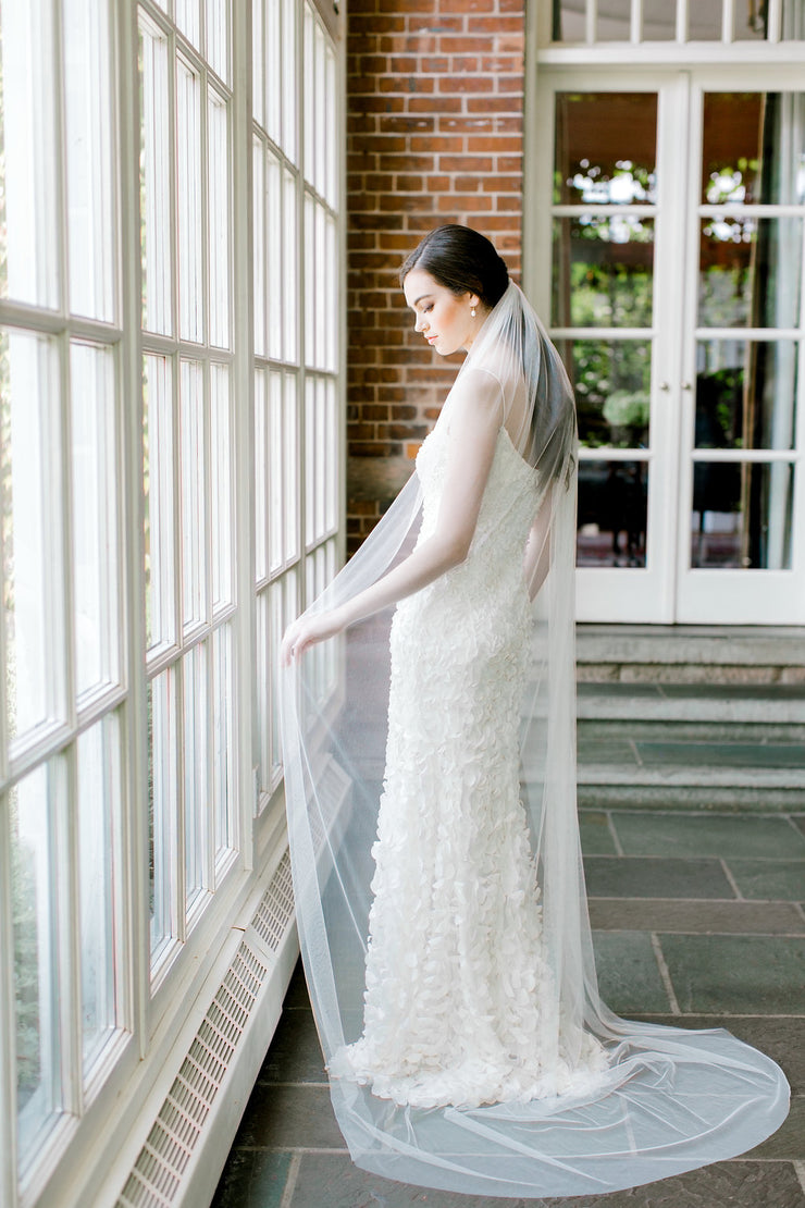 ISABELLE | Soft Wedding Veil | Noon on the Moon