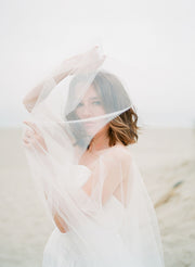 DEVON | Sheer Bridal Cape | Noon on the Moon