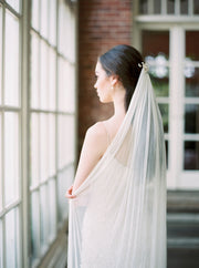 JASMINE | Silk Bridal Veil | Noon on the Moon