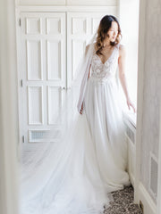 JULIETTE | Silk Wedding Veil | Noon on the Moon