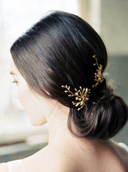 LAURA | Gold Wedding Hair Pins - Noon on the Moon