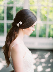 LOTTIE | Keshi Pearl Bridal Hair Pins