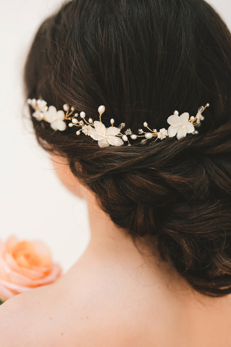 FLORIE | Bridal Hair Combs - Noon on the Moon