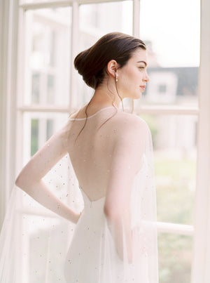 CASSIOPEIA | Crystal Bridal Cape
