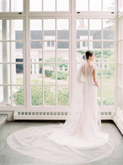 OLIVIA | Wide Wedding Veil