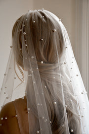 PARADIS | Pearl Wedding Veil - Noon on the Moon