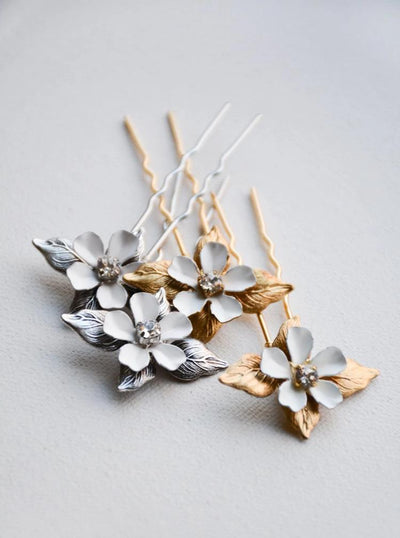 POSIE | Floral Hair Pins - Noon on the Moon