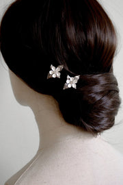 POSIE | Floral Hair Pins | Noon on the Moon