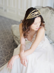 REINA | Crystal Wedding Crown - Noon on the Moon