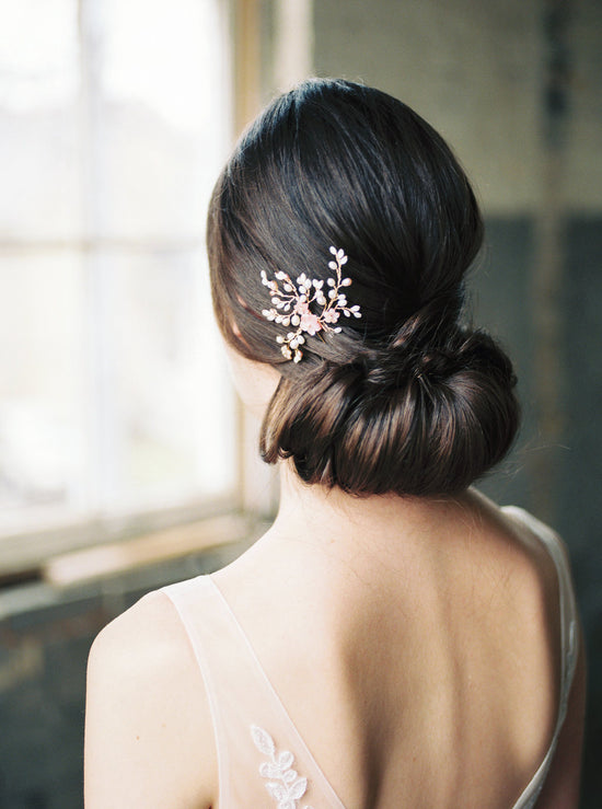 SAKURA | Floral Wedding Hair Pin