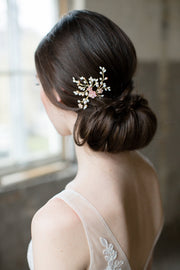SAKURA | Floral Wedding Hair Pin - Noon on the Moon