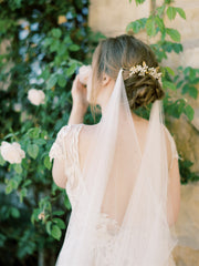 SIANA | Floral Bridal Headpiece | Noon on the Moon