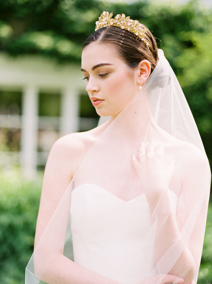 TAMARA | Italian Tulle Wedding Veil - Noon on the Moon