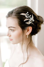 TIANA | Silver Moonstone Headpiece
