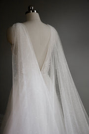 VEGA | Sparkling Bridal Cape | Noon on the Moon