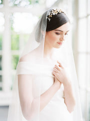 VERITY | Opal Bridal Headpiece | Noon on the Moon